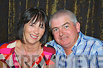 Devon Inn Ceili, Sunday 06-10-2013. Pictured from left to right : Mary Cooney of Middleton and Gerard O'Brien of Ennis.