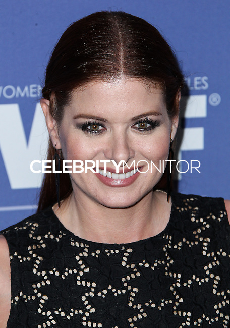 BEVERLY HILLS, CA- JUNE 12: Debra Messing arrives at the Women In Film's 2013 Crystal + Lucy Awards at The Beverly Hilton Hotel on June 12, 2013 in Beverly Hills, California. (Photo by Celebrity Monitor)
