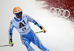 December 3, 2011:  Sweden's Patrik Jaerbyn completes the Super-G at the Audi Birds of Prey FIS World Cup ski championships at Beaver Creek Ski Resort, Colorado.