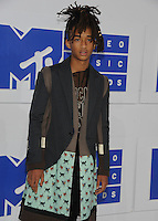 NEW YORK, NY - AUGUST 28  Jaden Smith attend the 2016 MTV Video Music Awards at Madison Square Garden on August 28, 2016 in New York City Credit John Palmer / MediaPunch
