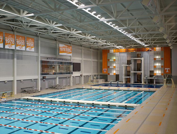 Allan Jones Aquatic Center at the University of Tennessee Brad