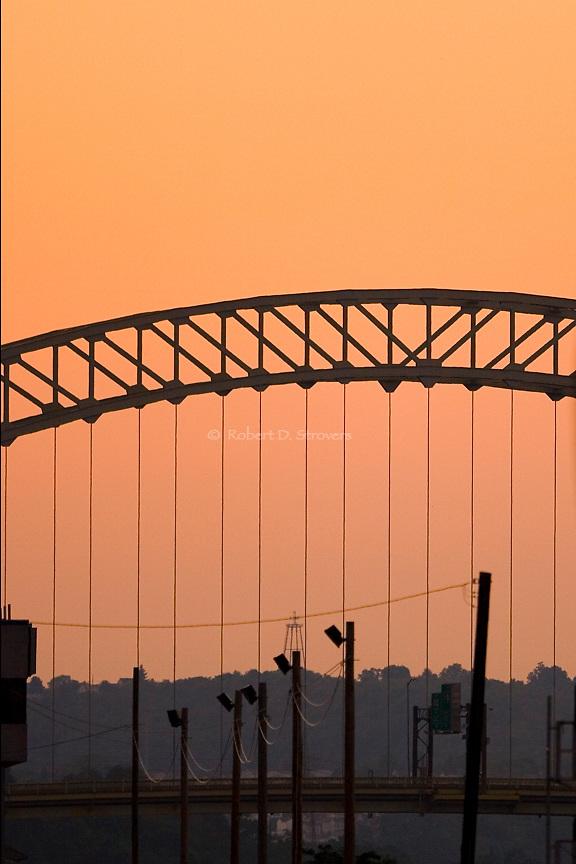 Pittsburghs Bridges - West End Arc