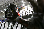A life size replica of Darth Vader on display during the Tokyo Comic Con 2017 at Makuhari Messe International Exhibition Hall on December 1, 2017, Tokyo, Japan. This is the second year that San Diego Comic-Con International held the event in Japan. Tokyo Comic Con runs from December 1 to 3. (Photo by Rodrigo Reyes Marin/AFLO)