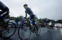 Nairo Quintana (COL) in the escape group<br /> <br /> Tour of Britain<br /> stage 2: Carlisle to Kendal (187km)