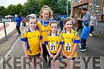Enjoying the Community Games  at An Riocht Castleisland  on Saturday were Beaufort team Caoimhe Riordan, Flowla Egan, Lily Riordan, Nell Dobson