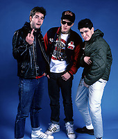 Beastie Boys portraits photographed at The Aragon Ballroom in Chicago, Illinois.<br /> March 13,1987<br /> CAP/MPI/GA<br /> ©GA/MPI/Capital Pictures