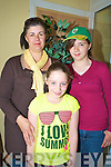 Evelyn King, Katie and Kerry Halpenny, Killorglin, at the Fame show in the CYMS, Killorglin on Sunday........