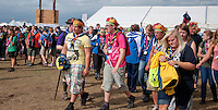 Arrivals to the days activitys. Photo: Malin Serner/SCOUTERNA