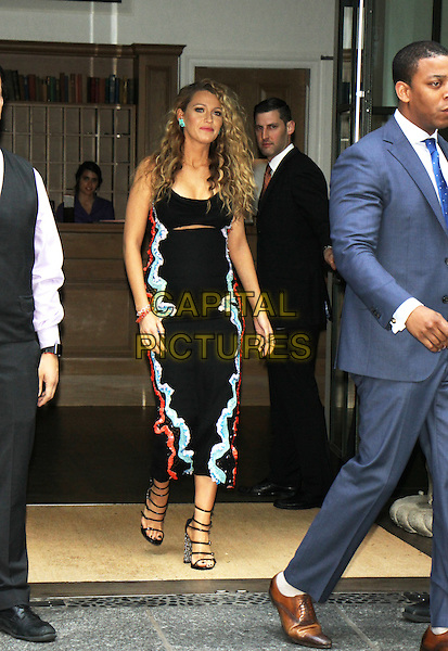 NEW YORK, NY-June 22: Blake Lively  at The Shallows Press-Junket at the Crosby Street Hotel in New York. NY June 22, 2016. <br /> CAP/MPI/RW<br /> &copy;RW/MPI/Capital Pictures