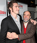 Lee Pace & F. Murray Abraham attending the Opening Night Party for the Manhattan Theatre Club's 'Golden Age' at Beacon Restaurant in New York City on December 4, 2012.