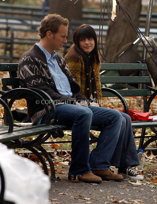 WWW.ACEPIXS.COM . . . . .  ....NEW YORK, NOVEMBER 29, 2005....Selma Blair and Patrick Wilson on the set of 'Purple Violets' in Greenwich Village.....Please byline: AJ Sokalner - ACE PICTURES..... *** ***..Ace Pictures, Inc:  ..Philip Vaughan (212) 243-8787 or (646) 769 0430..e-mail: info@acepixs.com..web: http://www.acepixs.com