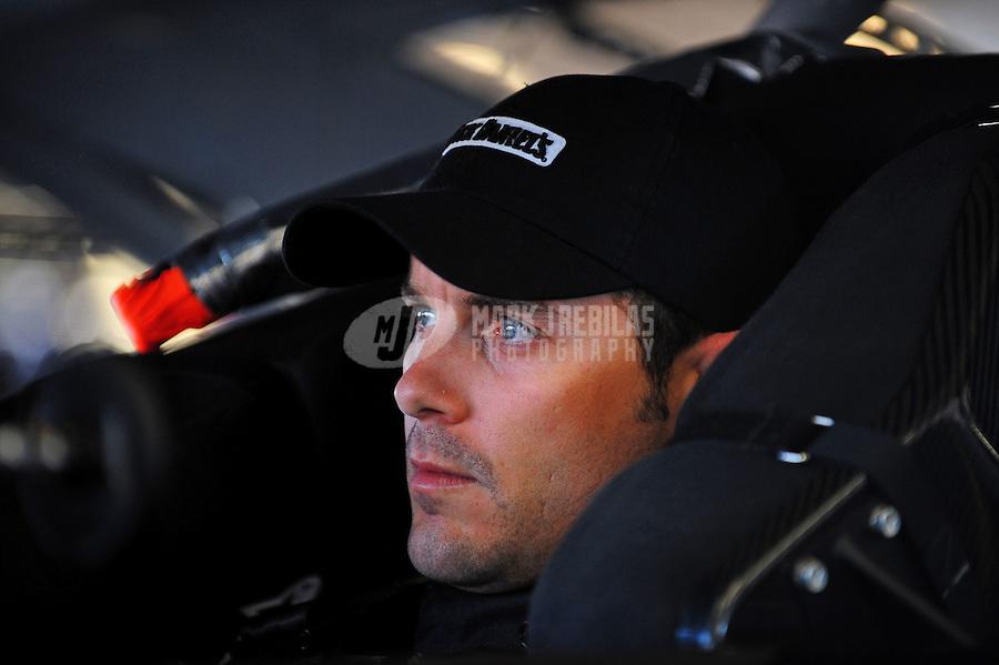 Feb 13, 2009; Daytona Beach, FL, USA; NASCAR Sprint Cup Series driver Casey Mears during practice for the Daytona 500 at Daytona International Speedway. Mandatory Credit: Mark J. Rebilas-