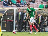 Pasadena, CA - Thursday June 09, 2016: Nestor Araujo during a Copa America Centenario Group C match between Mexico (MEX) and Jamaica (JAM) at Rose Bowl Stadium.