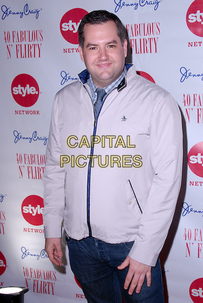 "ROSS MATTHEWS.Arrivals to ""40, Fabulous & Flirty,"" an exclusive birthday celebration for actress/comedienne Niecy Nash at the Kress in Hollywood. Hollywood, CA, USA. .February 27th, 2010.half length beige jacket  .CAP/CEL/SC .©Steve Choo/CelPh/Capital Pictures"