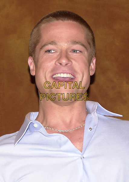 BRAD PITT.Los Angeles, 2004.headshot, portrait, smiling.www.capitalpictures.com.sales@capitalpictures.com.© Capital Pictures.