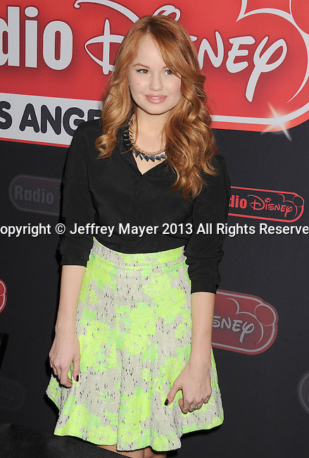 GLENDALE, CA- NOVEMBER 09: Actress/singer Debby Ryan of Disney Channel's 'Jessie' makes a special appearance/meet-and-greet at the Glendale Galleria on November 9, 2013 in Glendale, California.