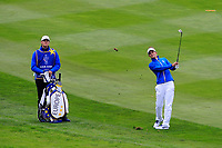Anne Van Dam (EUR) on the 1st fairway during Day 3 Singles at the Solheim Cup 2019, Gleneagles Golf CLub, Auchterarder, Perthshire, Scotland. 15/09/2019.<br /> Picture Thos Caffrey / Golffile.ie<br /> <br /> All photo usage must carry mandatory copyright credit (© Golffile | Thos Caffrey)