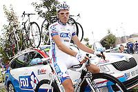 Arnold Jeannesson before the stage of La Vuelta 2012 beetwen Santander-Fuente De.September 5,2012. (ALTERPHOTOS/Acero) /NortePhoto.com<br /> <br /> **CREDITO*OBLIGATORIO** *No*Venta*A*Terceros*<br /> *No*Sale*So*third* ***No*Se*Permite*Hacer Archivo***No*Sale*So*third