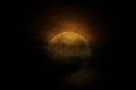 Ecos de Júpiter / luna azul, 31 de marzo de 2018.<br /> <br /> Edición de 10 | Víctor Santamaría.