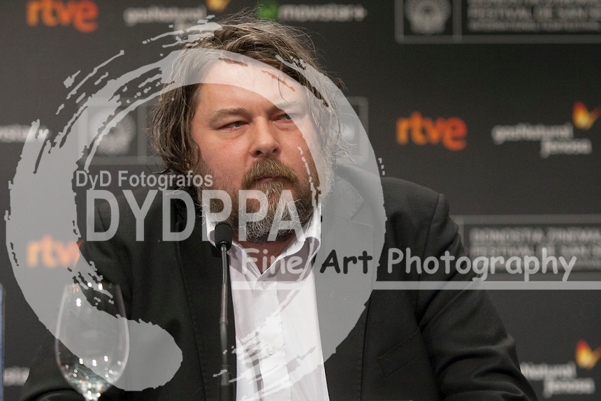 Ben Wheatley poses