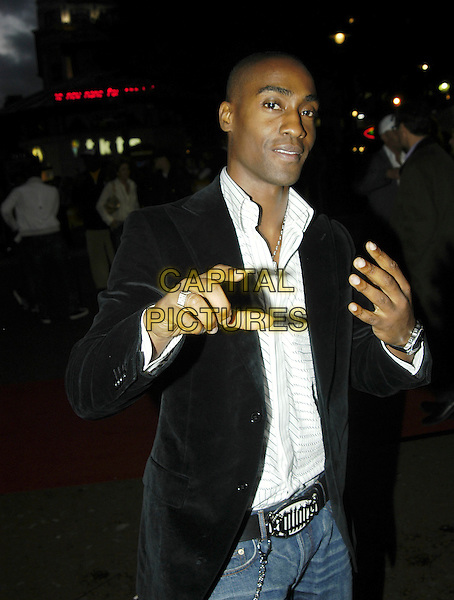 "SIMON WEBBE.""Goal!"" world premiere at the Odeon Leicester Square .15th September, 2005.London, England..www.capitalpictures.com.sales@capitalpictures.com.©Ian Allis/Capital Pictures"