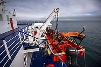 Bluebridge Ferry crossing Cook Strait, New Zealand on Monday, 20 January 2020. Photo: Dave Lintott / lintottphoto.co.nz