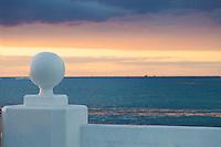 Cozumel harbor at sunset.<br /> <br /> Canon EOS 5D Mk II, 24-105L lens