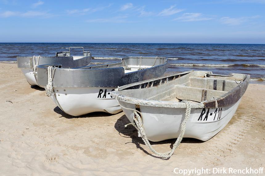 Strand bei Mazirbe, Lettland, Europa