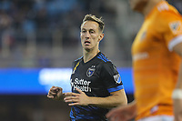 San Jose, CA - Saturday September 16, 2017: Francois Affolter during a Major League Soccer (MLS) match between the San Jose Earthquakes and the Houston Dynamo at Avaya Stadium.