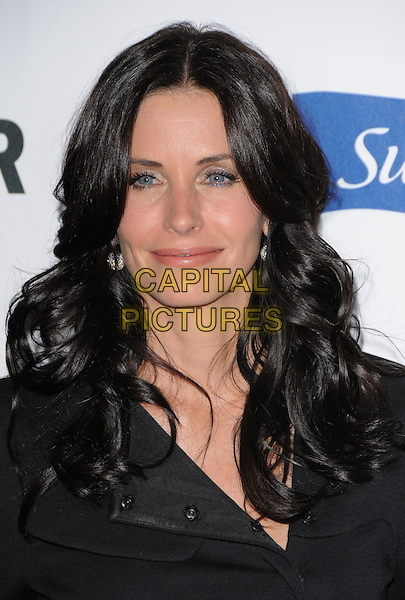 COURTENEY COX ARQUETTE .The Glamour Reel Moments held at The DGA in West Hollywood, California, USA. .October 14th, 2008                                                                     .headshot portrait courtney black .CAP/DVS.©Debbie VanStory/Capital Pictures.
