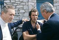 Alain Colas sur Manureva, ex-Pen Duick IV. En 1974, premier record du tour du monde en solitaire après Sir Francis Chichester.
