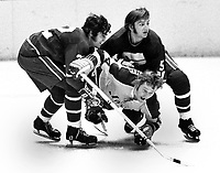 Vancouver Canucks Gregg Boddy and Jim Hargreaves<br />