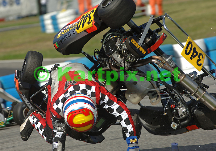 World Karting Championship, Braga, Portugal, 24-25 September 2005, Biland World Final
