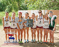 The MICDS Lady Rams did the MICDS boys one better in taking first in the Varsity 3A division at the 2013 Hancock XC Invitational.
