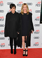 Kris Jenner &amp; Melanie Griffith at the AFI Fest premiere for &quot;The Disaster Artist&quot; at the TCL Chinese Theatre. Los Angeles, USA 12 November  2017<br /> Picture: Paul Smith/Featureflash/SilverHub 0208 004 5359 sales@silverhubmedia.com