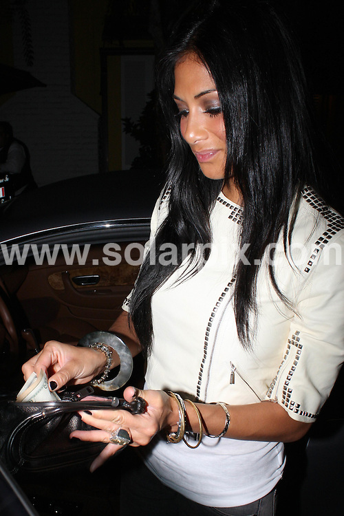 **ALL ROUND PICTURES FROM SOLARPIX.COM**.**WORLDWIDE SYNDICATION RIGHTS**.**NO PUBLICATION IN AUSTRALIA, DENMARK, GERMANY, NEW ZEALAND, RUSSIA, UK OR USA**.Nicole Scherzinger and the Pussycat Dolls enjoy a late night out at Foxtail Lounge in West Hollywood, .California, USA. 26th August 2008..This pic: Nicole Scherzinger..JOB REF: 7133 LAP (HD)      DATE: 26_08_2008.**MUST CREDIT SOLARPIX.COM OR DOUBLE FEE WILL BE CHARGED* *UNDER NO CIRCUMSTANCES IS THIS IMAGE TO BE REPRODUCED FOR ANY ONLINE EDITION WITHOUT PRIOR PERMISSION*