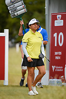 Jane Park (USA) watches her tee shot on 10 during the round 2 of the Volunteers of America Texas Classic, the Old American Golf Club, The Colony, Texas, USA. 10/4/2019.<br /> Picture: Golffile | Ken Murray<br /> <br /> <br /> All photo usage must carry mandatory copyright credit (© Golffile | Ken Murray)