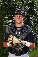Catcher Tim Susnara (2) of St. Francis High School in Redwood City, California poses for a photo before the Under Armour All-American Game on August 24, 2013 at Wrigley Field in Chicago, Illinois.  (Mike Janes/Four Seam Images)