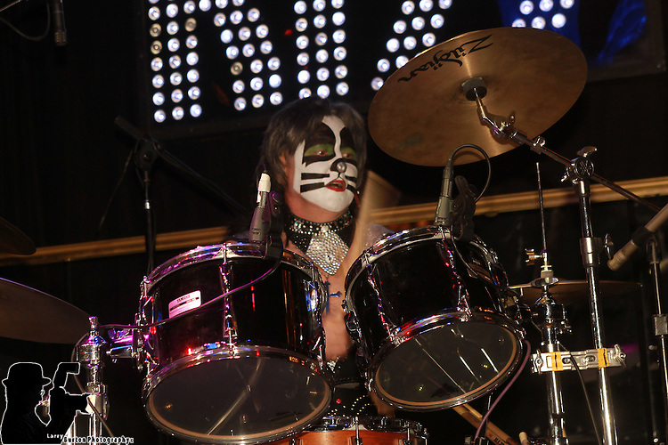 Las Vegas Jan 29 2012: The Final 4 bands performed in a Kiss Off Body Engrish at the Hardrock Hotel