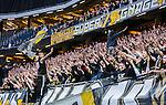 Solna 2015-04-26 Fotboll Allsvenskan AIK - &Ouml;rebro SK :  <br /> AIK:s supportrar under matchen mellan AIK och &Ouml;rebro SK <br /> (Foto: Kenta J&ouml;nsson) Nyckelord:  AIK Gnaget Friends Arena Allsvenskan &Ouml;rebro &Ouml;SK supporter fans publik supporters