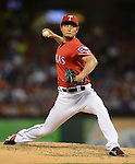 Yu Darvish (Rangers),<br /> JUNE 13, 2013 - MLB :<br /> Yu Darvish of the Texas Rangers pitches during the Major League Baseball game against the Toronto Blue Jays at Rangers Ballpark in Arlington in Arlington, Texas, United States. (Photo by AFLO)
