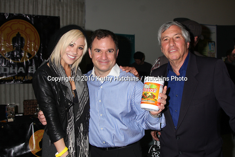 LOS ANGELES - NOV 20:  BC Jean, Gil R. Tatarsky, Victor Zeines at the Connected's Celebrity Gift Suite celebrating the 2010 American Music Awards at Ben Kitay Studios on November 20, 2010 in Los Angeles, CA