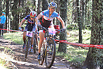 05.09.2015 La Massana Andorra. 201 UCI Mountain Bike World Champions.Picture show  Pendrel Catharine (CAN) in action during women ELite Cross-country Olympic World Champions