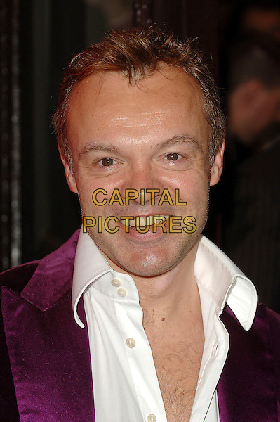 "GRAHAM NORTON.At the World Premiere of ""Dirty Dancing: The Classic Story On Stage"", Aldwych Theatre, London, England,.October 24th 2006..portrait headshot.Ref: BEL.www.capitalpictures.com.sales@capitalpictures.com.©Tom Belcher/Capital Pictures."