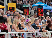 June 10th 2017, Chester Racecourse, Cheshire, England; Chester Races Horse racing; Racegoers enjoying the day at Halewood Summer Saturday at Chester racecourse