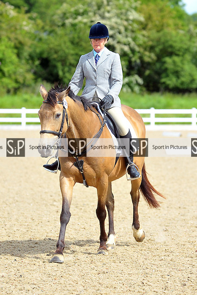 Class 2. Intro B. Brook Farm Championships, points league and Trailblazers Unaffiliated Dressage. Brook Farm Training Centre. Essex. 30/05/2015. MANDATORY Credit Ellie Ingram/Sportinpictures - NO UNAUTHORISED USE - 07837 394578