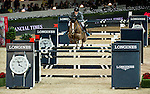 Kevin Staut of France rides Estoy Aqui de Muze HDC in action at the Longines Grand Prix during the Longines Hong Kong Masters 2015 at the AsiaWorld Expo on 15 February 2015 in Hong Kong, China. Photo by Aitor Alcalde / Power Sport Images