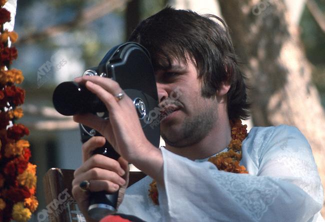 Ringo Starr, Maharishi Mahesh Yogi's ashram.Rishikesh, India, January 1968