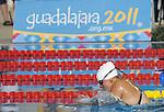 November 13 2011 - Guadalajara, Mexico: Jana Murphy during her Silver medal swim at the 2011 Parapan American Games in Guadalajara, Mexico.  Photos: Matthew Murnaghan/Canadian Paralympic Committee