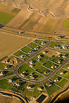 Aerial View of Kennewick, Washington